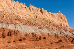 Raw Utah Rock Formations Royalty Free Stock Photo