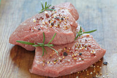 Raw veal meat Royalty Free Stock Image