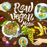 Raw vegan Royalty Free Stock Photography
