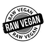 Raw Vegan rubber stamp Royalty Free Stock Photo