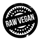 Raw Vegan rubber stamp Stock Images