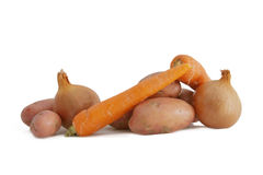 Raw vegetables Stock Images