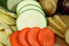 Raw vegetables. Fresh raw vegetables from organic farm. Prepared for healthy soup Stock Image