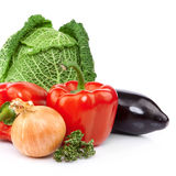 Raw vegetables Stock Photos