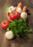 Raw vegetables Royalty Free Stock Photography