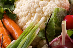 Raw Vegetables Background Stock Image