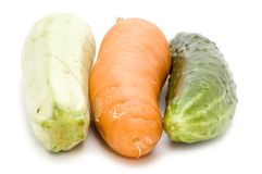 Raw Vegetables Close Up Royalty Free Stock Image