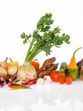 Raw vegetables group Stock Photo