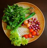 Raw vegetables. Preparation before cooking Stock Images