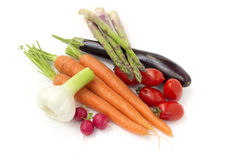 Raw vegetables Royalty Free Stock Image