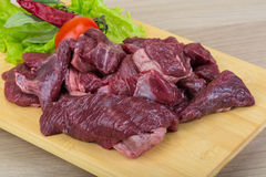 Raw venison Stock Photos