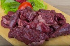 Raw venison Stock Image