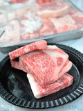 Raw Wagyu Royalty Free Stock Photos