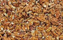 Raw walnuts Stock Image