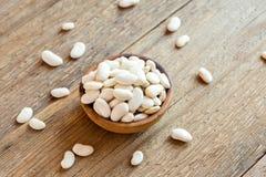 Raw White Beans Stock Image