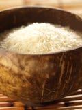 Raw white rice Stock Photos