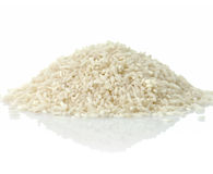 Raw white rice Royalty Free Stock Photos