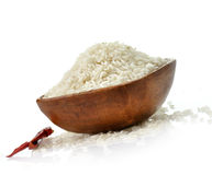 Raw white rice Royalty Free Stock Image