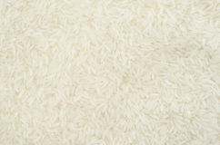Raw white rice texture. Stock Images