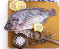 Raw Whole Fish Royalty Free Stock Photography