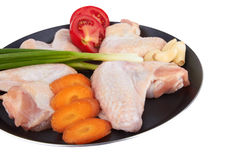 Raw Wings Stock Images