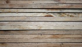 Raw wood, wooden slatted Royalty Free Stock Image