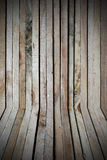 Raw wood, wooden slatted Royalty Free Stock Images