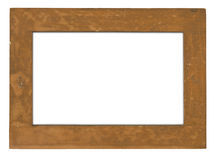 Raw wooden frame Stock Photo
