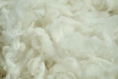 Raw wool Royalty Free Stock Image