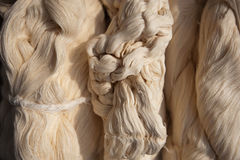 Raw yarn Royalty Free Stock Image