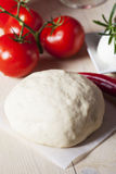 Raw yeast dough Stock Image