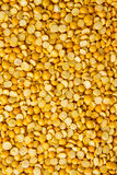 Yellow lentils Royalty Free Stock Photos