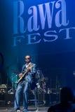 Rawa błękitów festiwal 2014: Niewidome chłopiec Alabama Zdjęcie Royalty Free