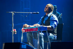 Rawa błękitów festiwal 2014: Robert Randolph & Rodzinny zespół Fotografia Royalty Free