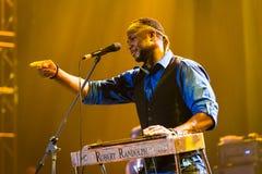 Rawa błękitów festiwal 2014: Robert Randolph & Rodzinny zespół Zdjęcie Stock