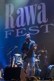 Rawa błękitów festiwal 2014: Robert Randolph & Rodzinny zespół Zdjęcia Royalty Free