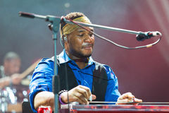 Rawa-Blau-Festival 2014: Robert Randolph u. die Familien-Band Lizenzfreies Stockfoto