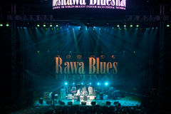 Rawa Blues Festival 2010 Stock Photo