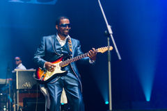 Rawa Blues Festival 2014: The Blind Boys of Alabama Royalty Free Stock Image