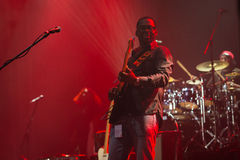 Rawa Blues Festival 2014: Robert Randolph & The Family Band Stock Images