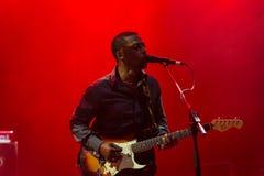 Rawa Blues Festival 2014: Robert Randolph & The Family Band Royalty Free Stock Photos