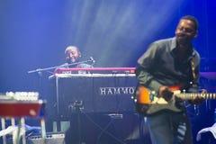 Rawa Blues Festival 2014: Robert Randolph & The Family Band Stock Photos