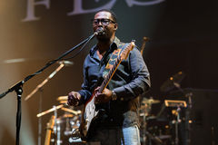 Rawa Blues Festival 2014: Robert Randolph & The Family Band Stock Photo