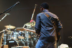 Rawa Blues Festival 2014: Robert Randolph & The Family Band Stock Image