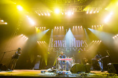 Rawa Blues Festival 2014: Robert Randolph & The Family Band Stock Photography