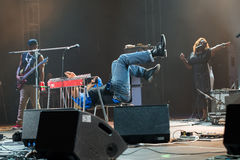 Rawa Blues Festival 2014: Robert Randolph & The Family Band Stock Photos