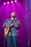 Rawa Blues Festival 2014: Shawn Holt & The Teardrops. KATOWICE, POLAND - OCTOBER 11: Shawn Holt & The Teardrops at Rawa Blues Festival - The world's biggest Stock Photography