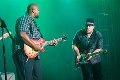Rawa Blues Festival 2014: Shawn Holt & The Teardrops. KATOWICE, POLAND - OCTOBER 11: Shawn Holt & The Teardrops at Rawa Blues Festival - The world's biggest Stock Photos