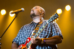 Rawa Blues Festival 2014: Shawn Holt & The Teardrops Stock Image