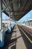 Rawa buntu station in BSD Stock Photo